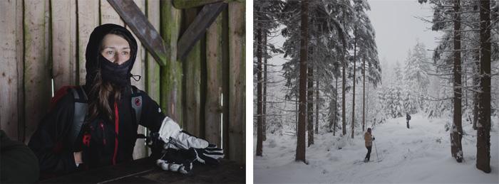 Justyna i narciarze