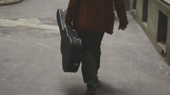 Vídeo en Varsovia. Cantante flamenco y guitarra. Autor: luis belmonte Foto: 2