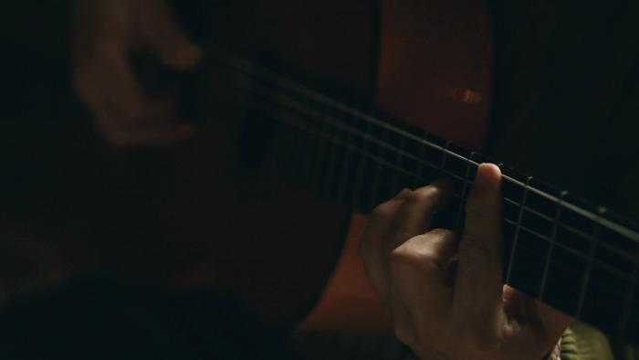 Vídeo en Varsovia de cantante y guitarra flamenca. Autor: Luis Belmonte Foto: 4